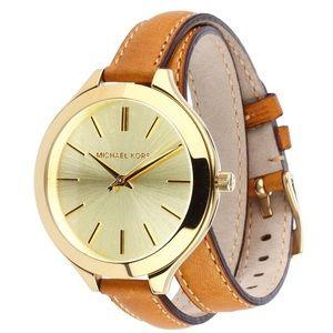 Authentic used Michael Kors MK2256 'Runway' watch